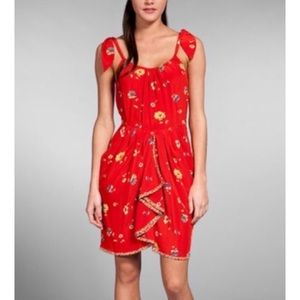 Rebecca Taylor poppies cami dress with pockets 6